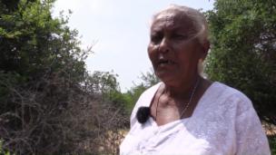 Link öffnet eine Lightbox. Video Aryia Pushpam kämpft um ihr Land abspielen.