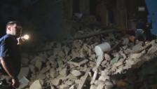 Link öffnet eine Lightbox. Video Erdbeben in Mittelitalien – Bilder der Zerstörung abspielen