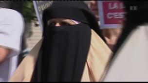 Video «Reizbild Burka, Rachid Nekkaz, Profit aus Abfall, Hacker-Angriffe» abspielen