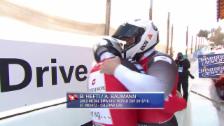 Link öffnet eine Lightbox. Video Hefti/Baumann fahren an der EM in St. Moritz zu Gold abspielen