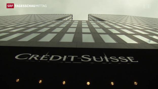 Video «Credit Suisse baut weitere 2000 Stellen ab» abspielen