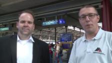 Link öffnet eine Lightbox. Video Fragen an SBB-Mediensprecher Ginsig und Adrian Wildbolz von Alptransit abspielen