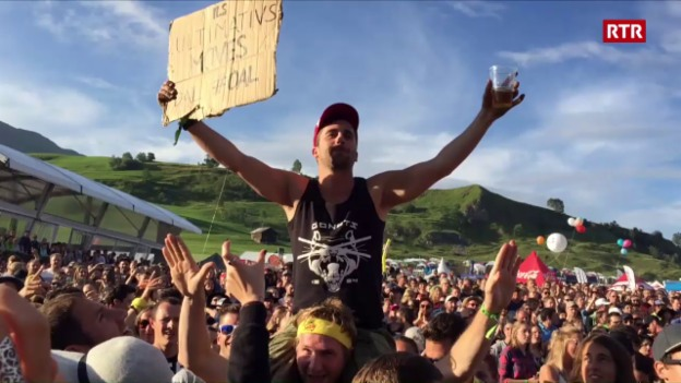 Laschar ir video «Ils ultimativs moves da l'Open Air Lumnezia»