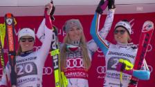 Link öffnet eine Lightbox. Video Ski: Abfahrt Frauen in Garmisch abspielen