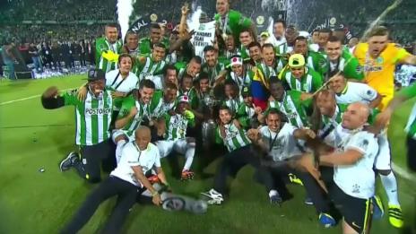 Link öffnet eine Lightbox. Video Borja schiesst Atletico Nacional zum Triumph (SNTV) abspielen