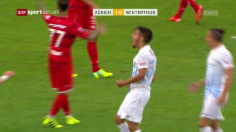 Link öffnet eine Lightbox. Video Zürich gewinnt Kantonsderby gegen Winterthur abspielen