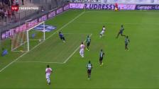 Link öffnet eine Lightbox. Video Sion, St. Gallen und 2 «Wembley-Tore» abspielen