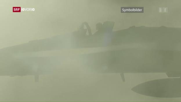 Video «Kommunikationsprobleme vor dem F/A-18-Absturz» abspielen