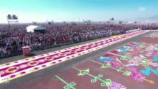 Link öffnet eine Lightbox. Video Papst hält Messe vor 300'000 Gläubigen in Mexiko abspielen