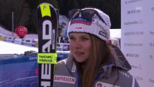 Link öffnet eine Lightbox. Video Ski: Interview Corinne Suter abspielen