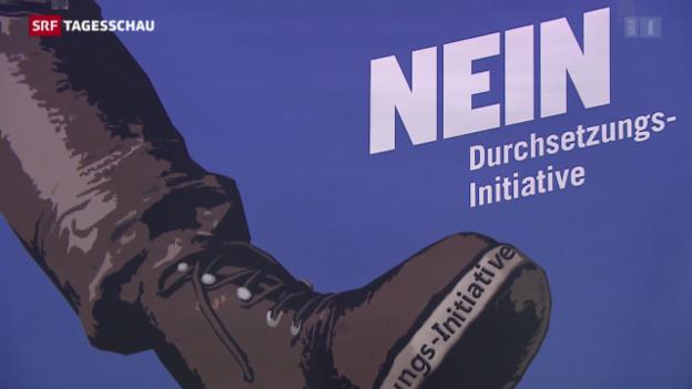 Video «Nein-Komitees zur Durchsetzungsinitiative» abspielen