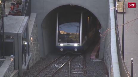 Link öffnet eine Lightbox. Video Lugano feiert seine Seilbahn abspielen