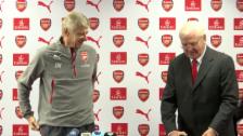 Link öffnet eine Lightbox. Video Arsène Wenger: Was 20 Jahre Treue wert sind abspielen
