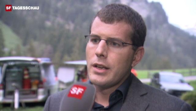 Polizei-Sprecher Andreas Hoffmann zum Flugzeugabsturz. - News-Clip - TV - Play SRF - Schweizer Radio und Fernsehen - 640
