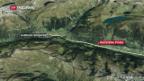 Video Schwerer Unfall vor dem Gotthard-Südportal abspielen.