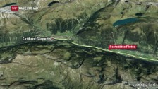Link öffnet eine Lightbox. Video Schwerer Unfall vor dem Gotthard-Südportal abspielen