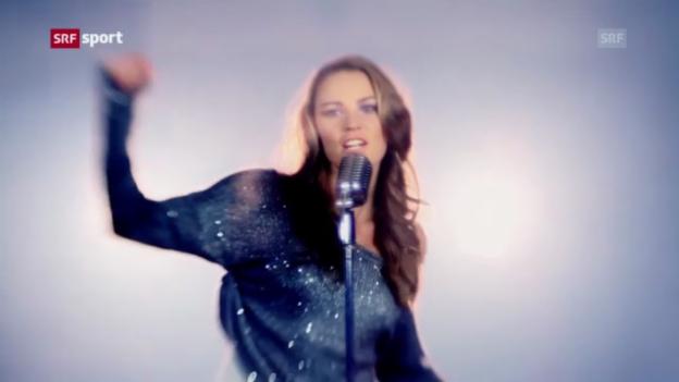 Video «Der Radio-Hit von Tina Maze» abspielen