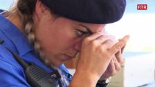 Laschar ir video «La guardia da cunfin Ladina Zanchetti»