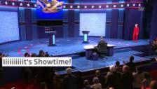 Link öffnet eine Lightbox. Video Showdown beim ersten TV-Duell abspielen