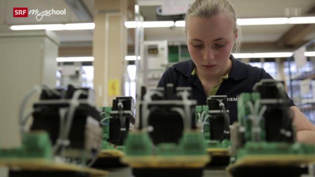Video «Berufsbild: Automatikerin EFZ» abspielen