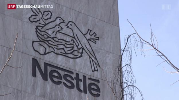 Video «Nestles Gewinn bricht um einen Drittel ein» abspielen