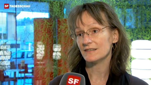 Marianne Zünd «Die Transporte sind streng geheim.» - News-Clip - TV - Play SRF - Schweizer Radio und Fernsehen - 640
