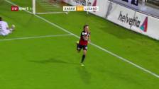 Link öffnet eine Lightbox. Video Aarau wirft Vorjahresfinalist Lugano raus abspielen