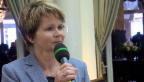 Video «Brigitte Häberli zu Gotthard: «Die Zustimmung freut mich sehr»» abspielen