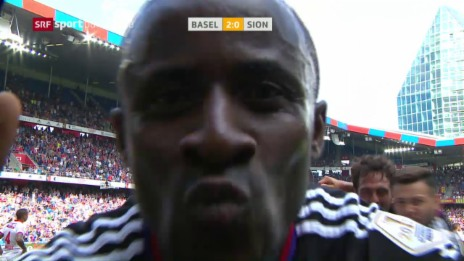 Link öffnet eine Lightbox. Video Delgado und Doumbia schiessen Basel an die Spitze abspielen