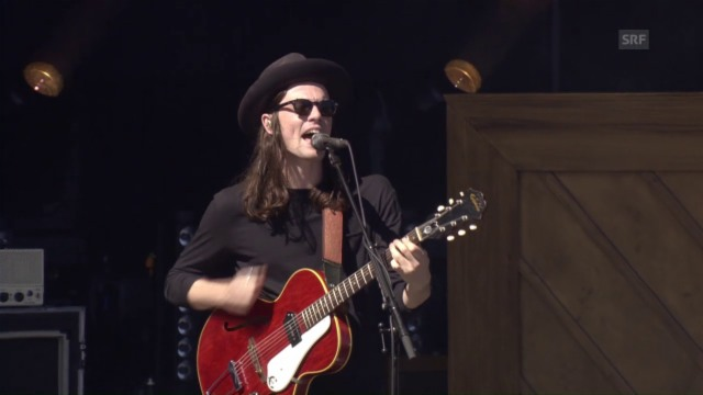Video: James Bay am Gurtenfestival 2016
