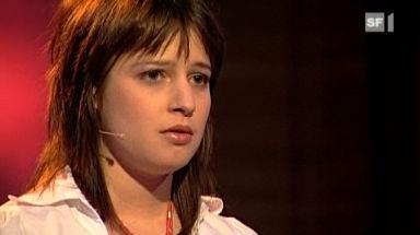 Lara Stoll vermisst ihren Duden. - 624