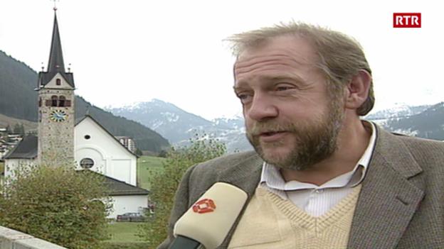 Laschar ir video «Tujetsch tranter NEAT e turissem (1992)»