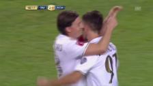 Link öffnet eine Lightbox. Video Bayern unterliegt Milan im Penaltyschiessen abspielen