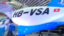 Link öffnet eine Lightbox. Video Enthüllung des neuen Pilatus-Business-Jets PC-24 abspielen