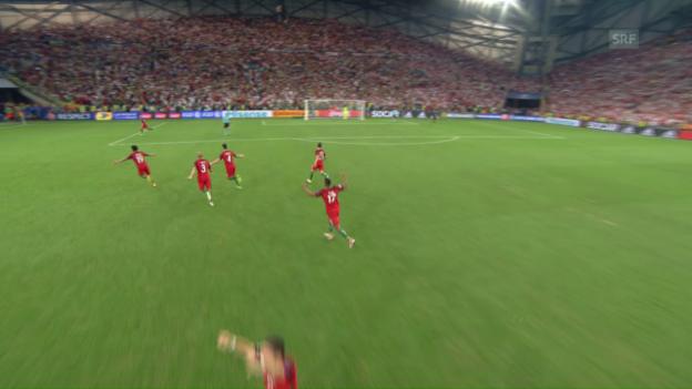 Video Krimi in Marseille: Portugal eliminiert Polen abspielen.