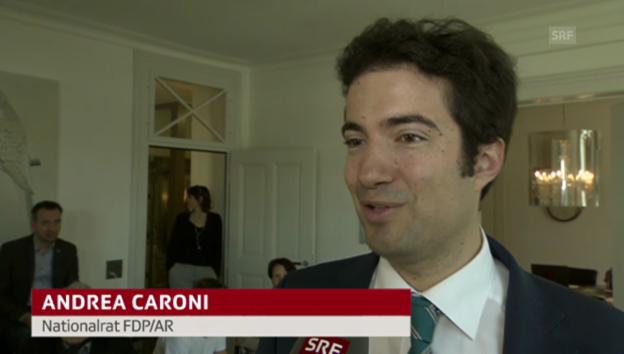 Video «Andrea Caroni: Spielraum für Gesetz ist klein» abspielen