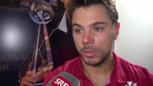Link öffnet eine Lightbox. Video Wawrinka äussert sich zu Federers Saisonende (franz.) abspielen