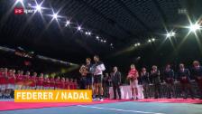 Link öffnet eine Lightbox. Video Federer und Nadal spielen gemeinsam Doppel abspielen
