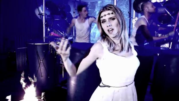 Video «Bubble Beatz ft. Sandra Wild aus Bernhardzell SG mit «Run»» abspielen