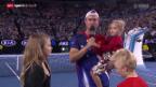 Video «Tennis: Derniere für Lleyton Hewitt» abspielen