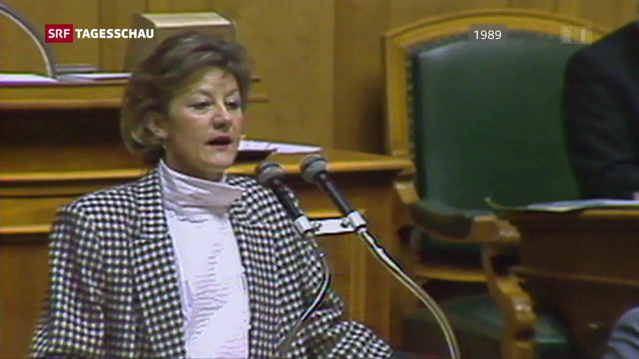 Die parlamentarische Karriere begann bei der Poch