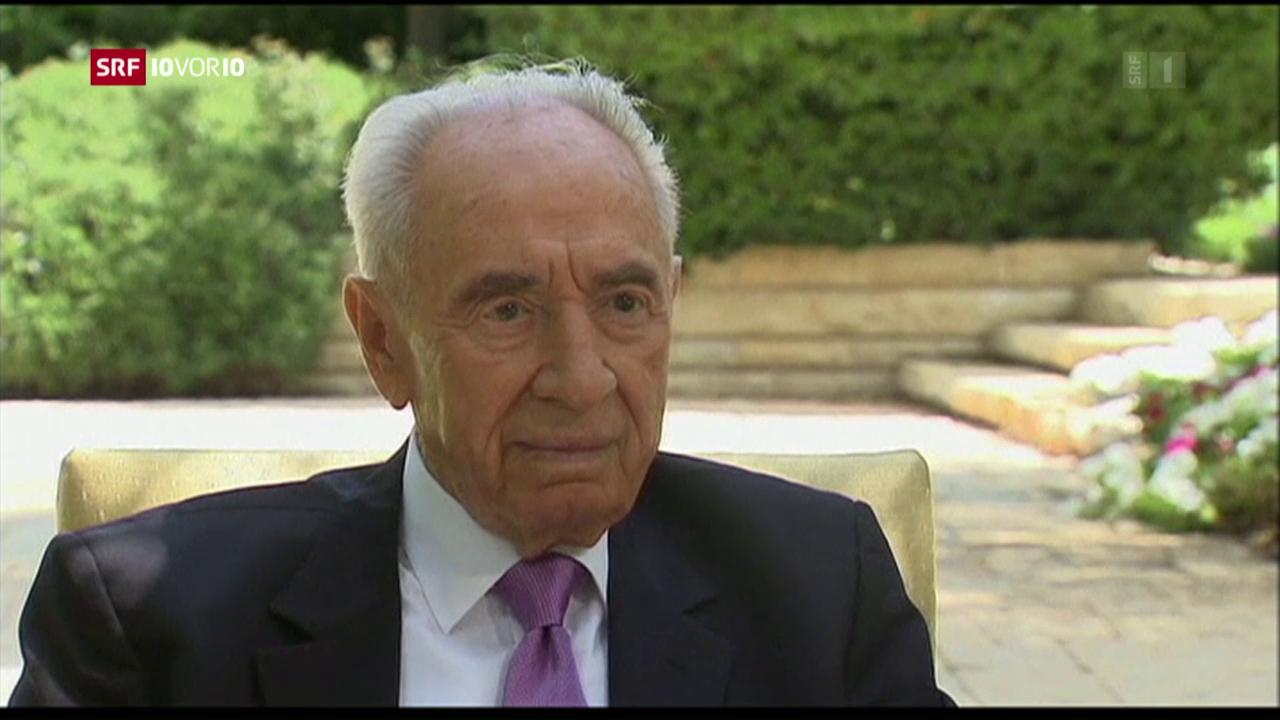 Schimon Peres ist tot