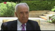 Video «Schimon Peres ist tot» abspielen