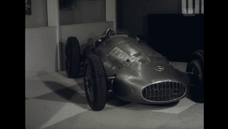 1958: Oldtimer-Rennwagen Sonderschau – Autosalon Genf