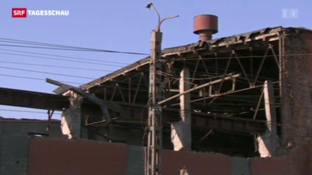Video «Aufräumarbeiten nach Meteoriteneinschlag» abspielen