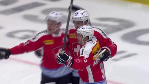 Video «Eishockey: Deutschland Cup, Deutschland - Schweiz» abspielen