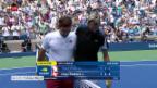 Video «Federer siegt gegen Paire» abspielen