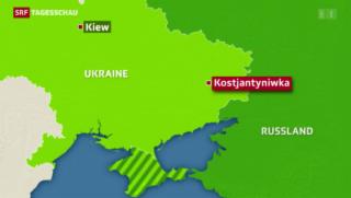 Video «Die Zeichen in der Ukraine stehen weiterhin auf Sturm» abspielen