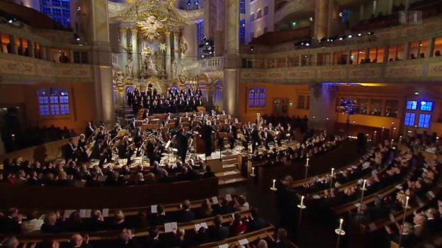 Video «Weihnachtliche Festmusik aus Dresden 2015» abspielen