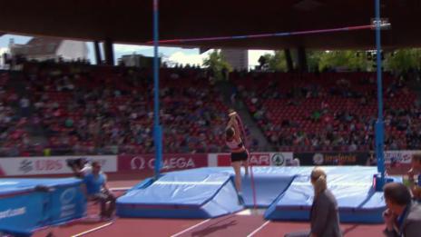 Video «Leichtathletik: Büchler verpasst Finaleinzug» abspielen